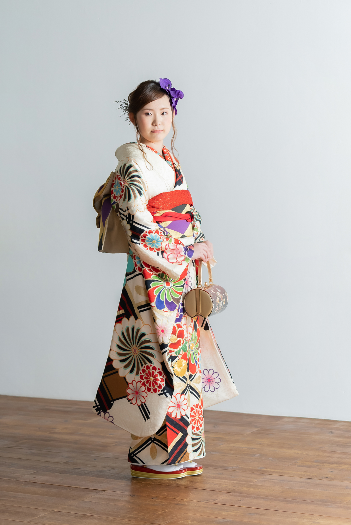 広島のフォトスタジオ「記念写真館SUNNY」成人式前撮り