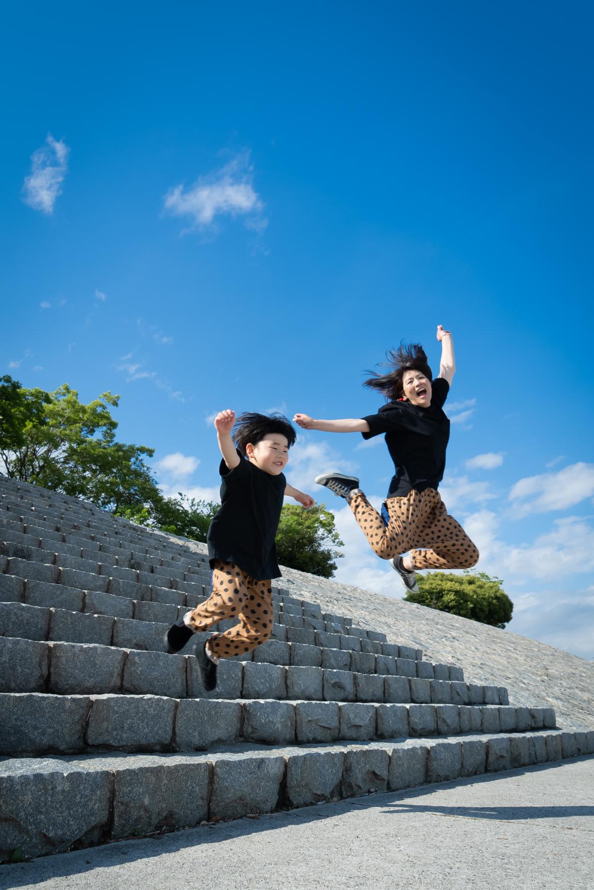 広島のフォトスタジオ「記念写真館SUNNY」ロケーション撮影