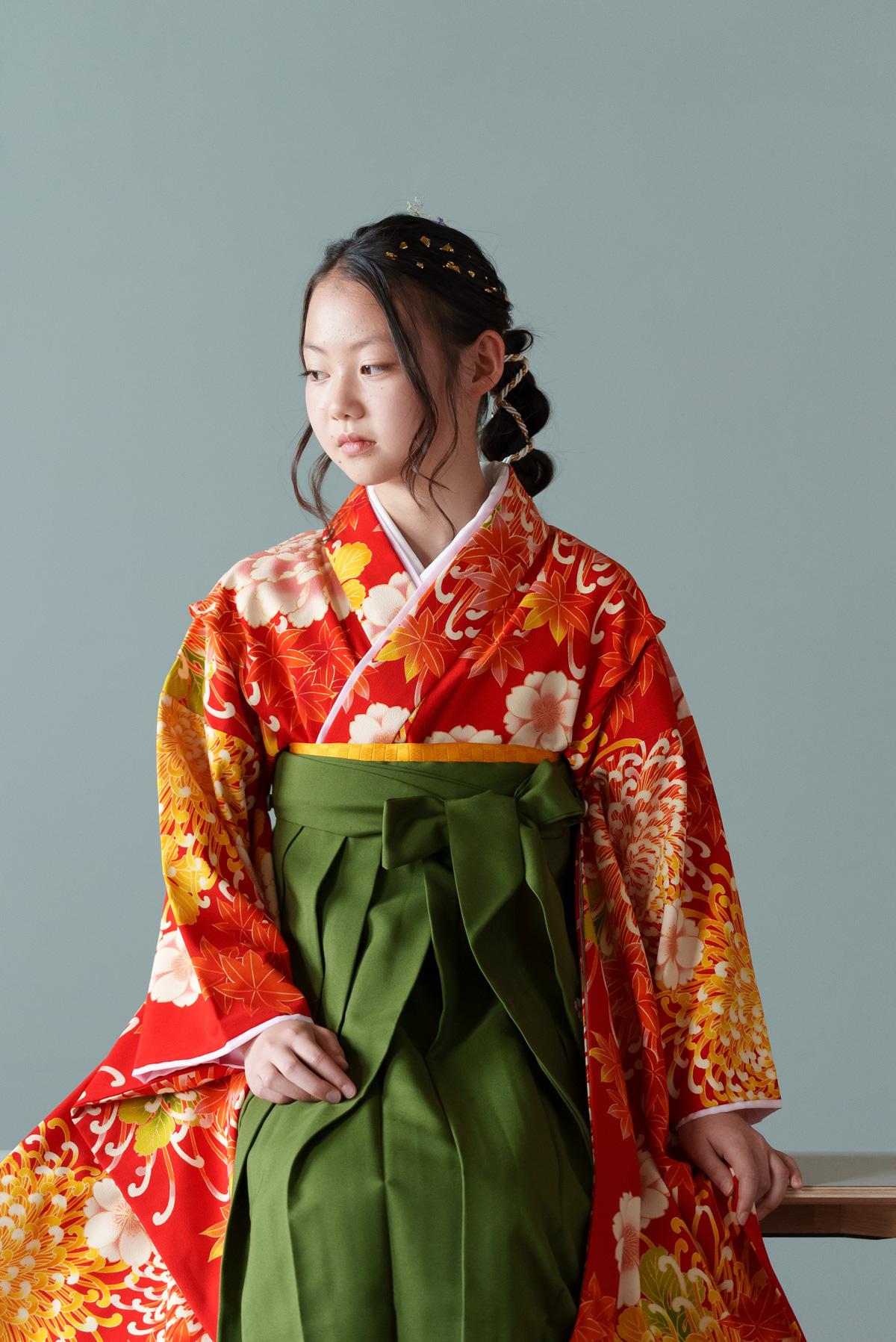 広島のフォトスタジオ「記念写真館SUNNY」ハーフ成人式写真